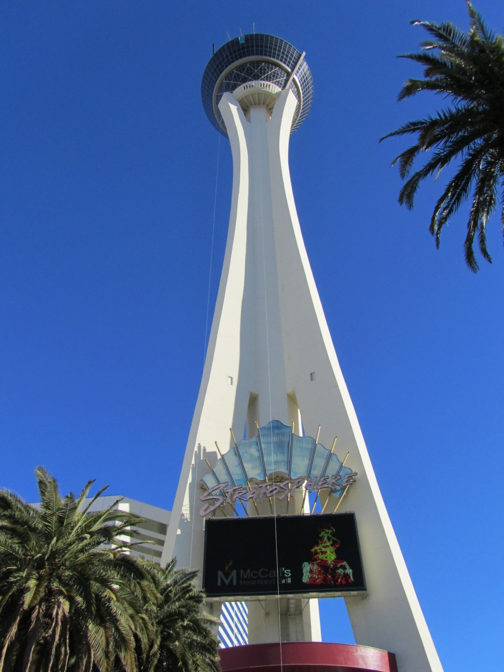 The Stratosphere Vegas High Roller