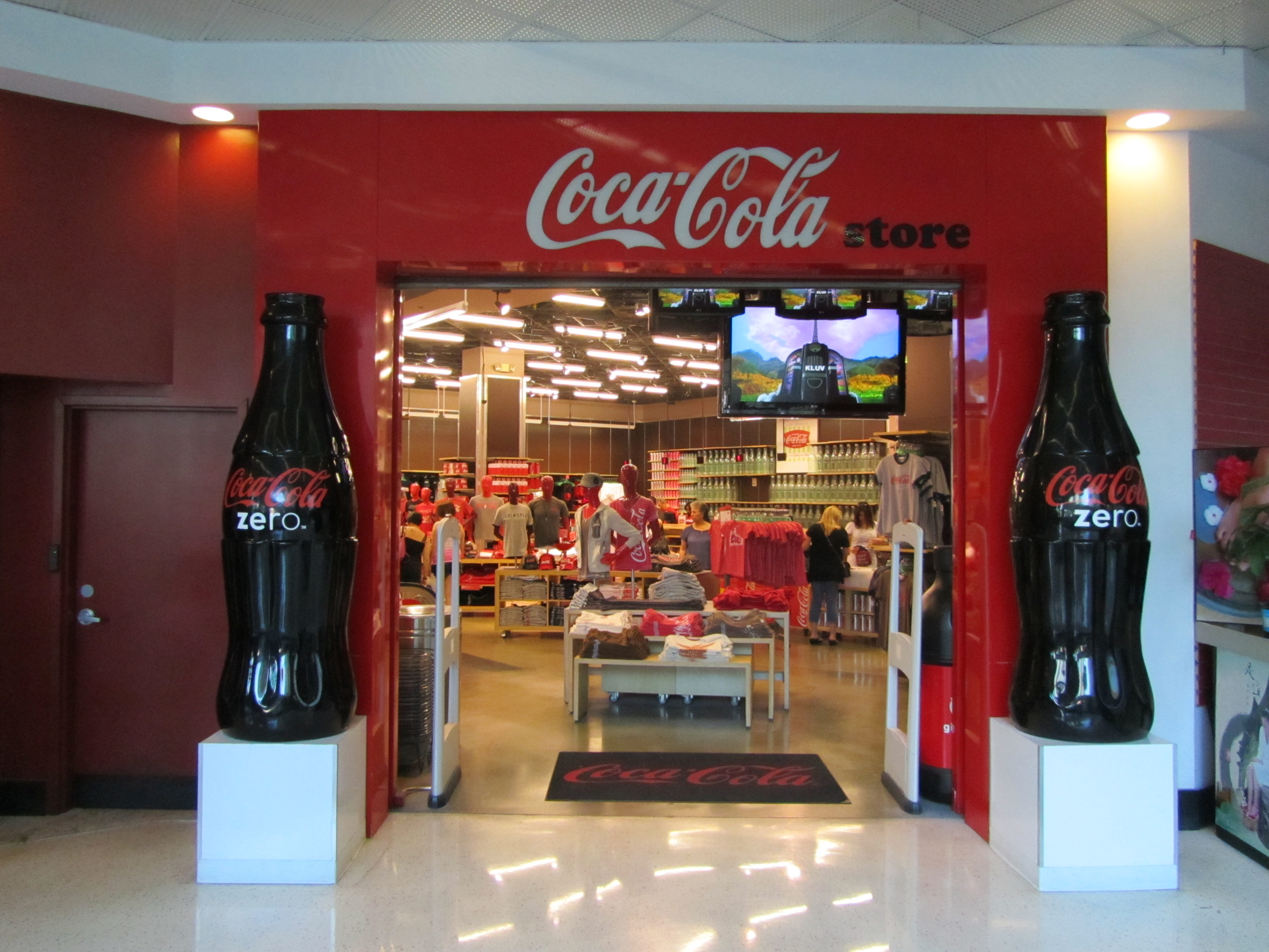 Coca Cola Store | Vegas High Roller