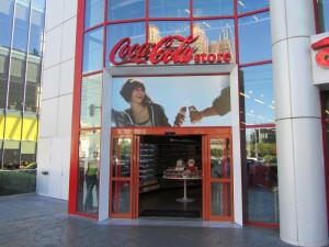 Coca Cola Store Las Vegas, Coca Cola, World of Coca Cola, World of Coca Cola Las Vegas, Coca Cola Las Vegas, Las Vegas, Las Vegas Strip, Las Vegas Boulevard, Showcase Mall Las Vegas, Showcase Mall