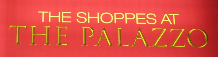 Shoppes at the Palazzo Header