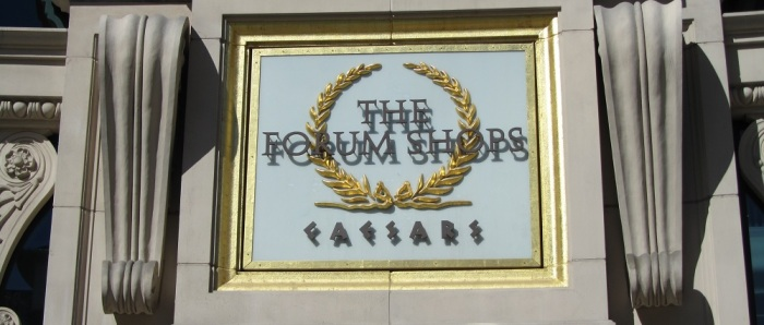 The Forum Shops Header