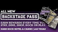 Backstage Pass Hard Rock LV2