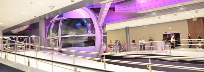 High Roller Ferris Wheel & Linq Promenade