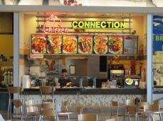 Chicken Connection at the Fashion Show Mall food court