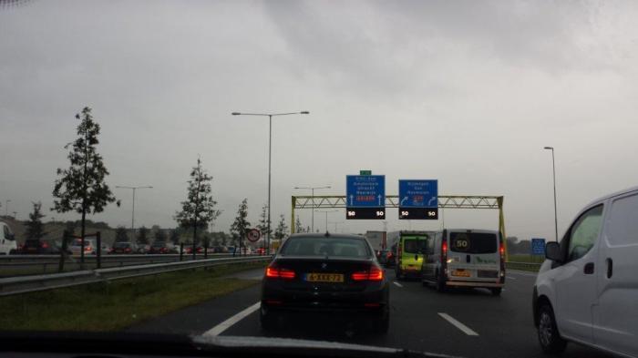 Dutch Monday Morning Traffic