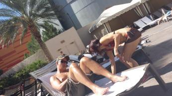 Monte Carlo Las Vegas Pool Area