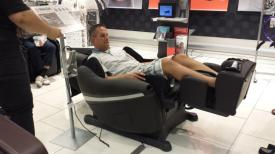 Trying a Massage Chair (for 30 minutes)