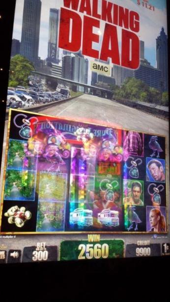 Walking Dead Slotmachines at New York New York Las Vegas