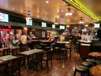 The Bar at Times Square at New York New York New York Las Vegas